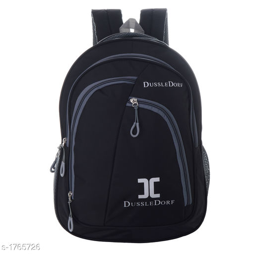 Laptop Bags & Sleeves Classy Polyester Backpack Material: Polyester Dimension: (H X L X W) - 18 in X 12 in X 6 in Closure Type: Zipper  Compartment : 4 Description: It Has 1 Piece Of Backpack   Country of Origin: India Sizes Available: Free Size   Catalog Rating: ★4.2 (228)  Catalog Name: Unisex Trendy Attractive Polyester Backpacks Vol 14 CatalogID_231629 C73-SC1080 Code: 405-1765726-