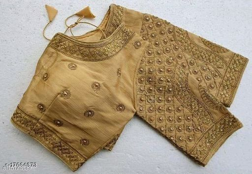 SOUTH STYLE HEAVY EMBRIODERY WORK BLOUSE