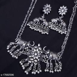 German Silver Oxidised Jewellery (Valentine Special Gift)