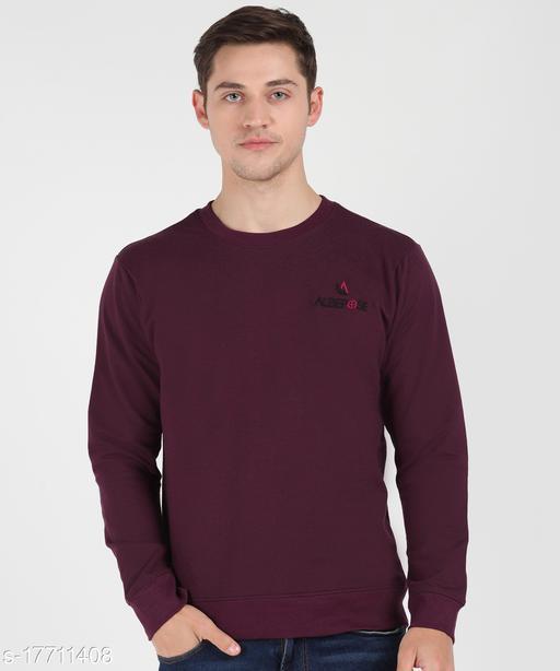 Albepose Full Sleeve Solid Men Sweatshirt