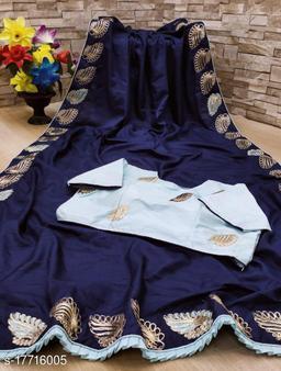 Dola Silk Coding Work Saree With Blouse Piece