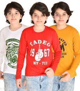Agile Elegant Boys Tshirts