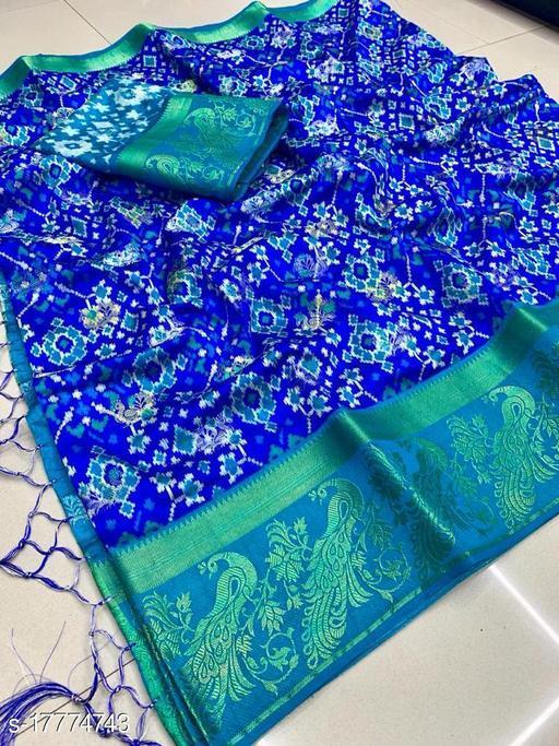 Pashvi Row Silk Saree
