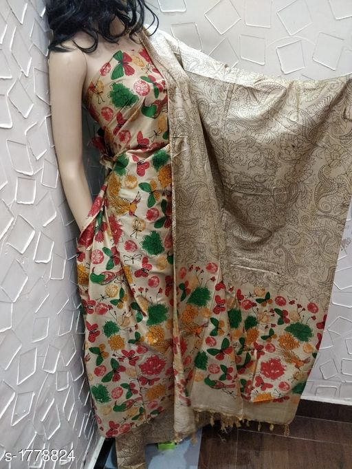 Adorable Silk Suits & Dress Material