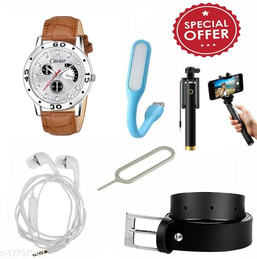Combo of Watch And Other Accessories