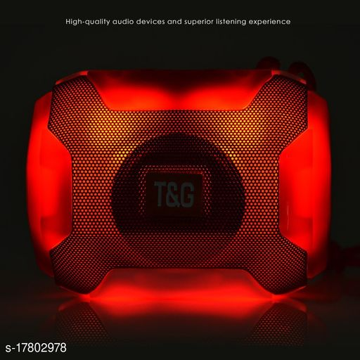 A005 Portable Bluetooth Speaker With Led Light and USB card Slot