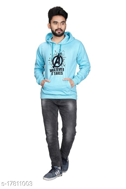 Unisex Men's and Women's Printed Hoodie/Sweatshirt