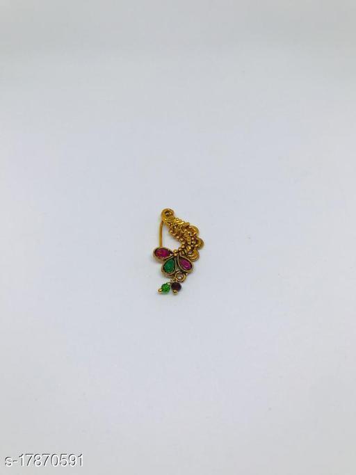 Trending Copper Nosepin/ Nath