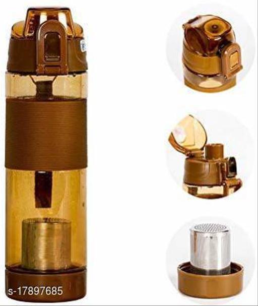 650 ML Anti-Oxidant Alkaline Water Bottle(Brown)