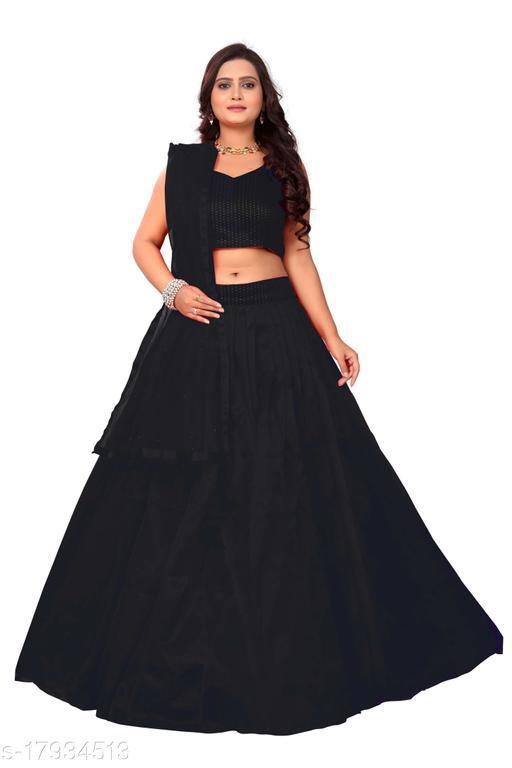 Women's Black color Special Lehenga Choli Set