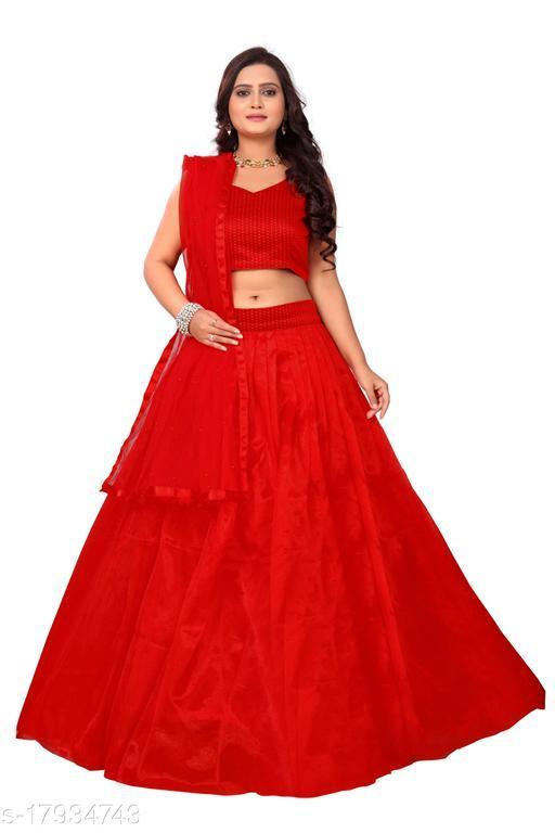Women's Red color Special Lehenga Choli Set