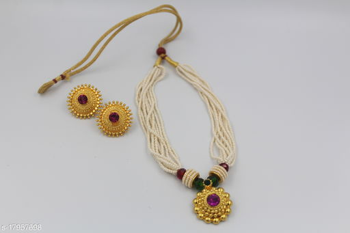 NECKLACE ELEGANT SET WITH EARRINGS