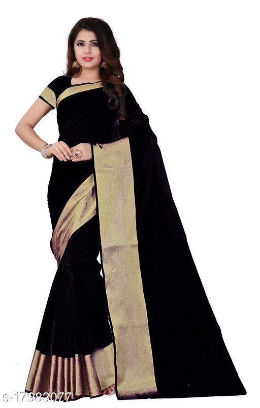 Daily Wear Black saree
