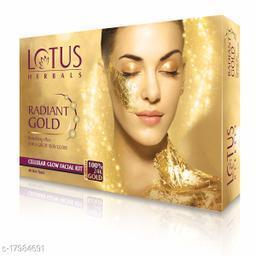 Lotus Herbals Radiand Gold Facial Kit Big