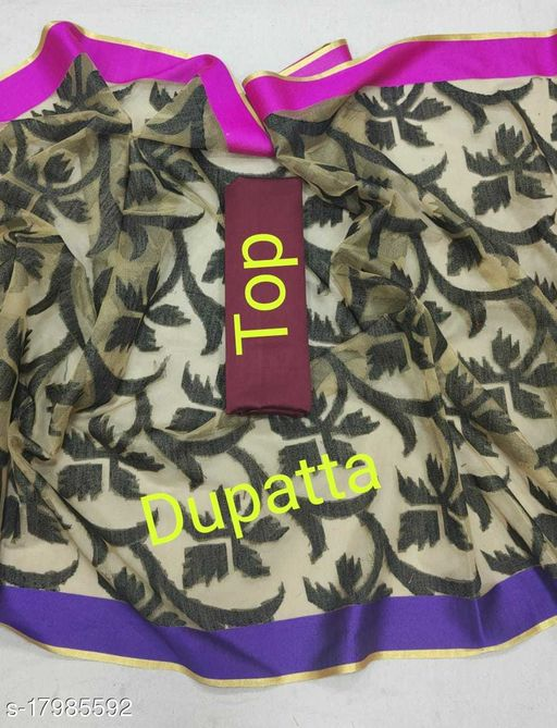 Alisha Fabulous Top And Dupatta Only