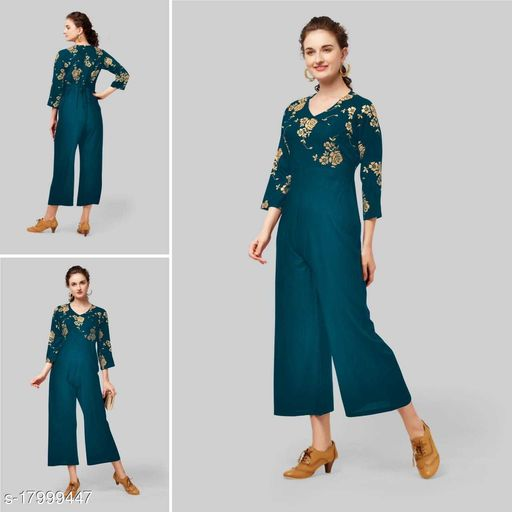 Bhramani Creation Western Wear For Women's Jumpsuits