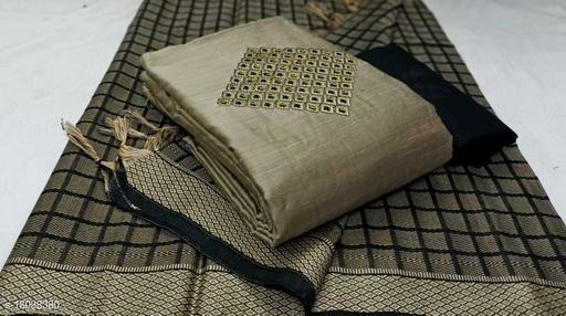 Jenisha Fabulous Designer Silk work Salwar Suits & Dress Materials