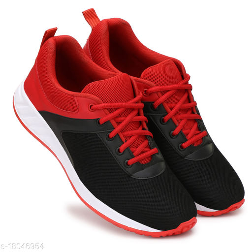 New Trendy Mens Black Sport Shoes