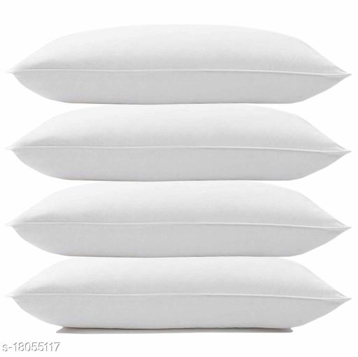 Microfiber Sleeping Soft White Plain Classic Pillows for Bed