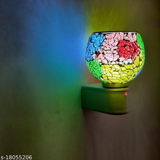 Kapoor dani with Night Lamp, Incense Burner, Bakhoor dani, Dhopp dani, Electric Aroma Diffuser with Night Lamp (MULTICOLOR)