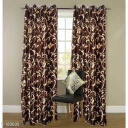 Stylish Polyester Printed Curtains