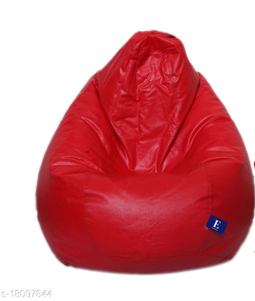 Kenji Bean Bag Cover With Beans Red XXXL