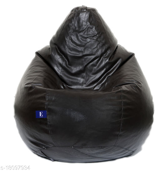 Kenji Bean Bag Cover With Beans Black XL