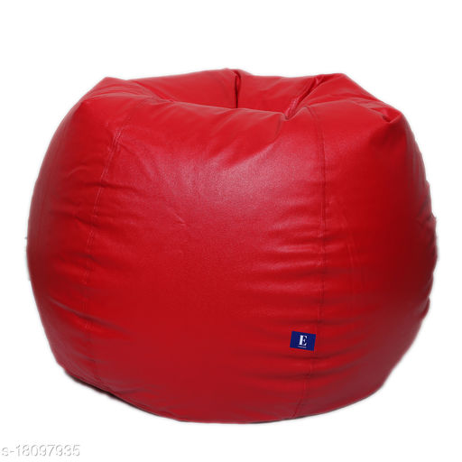 Kenji Bean Bag Cover With Beans Red XL