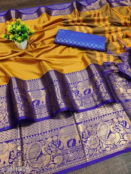Soft Silk South indian maharastrian cotton silk paithani saree