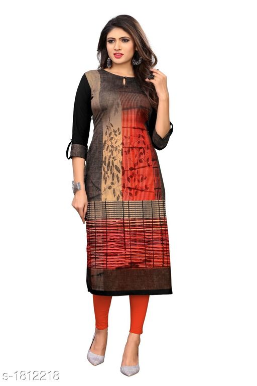 Kurtis & Kurtas Stunning Heavy American Crepe Printed Women's Kurti Fabric: American Crepe Sleeves: Sleeves Are Included Size: M - 38 in L - 40 in XL - 42 in XXL - 44 in 3XL - 46 in Length: Up to 46 in To 47 in Type: Stitched Description: It Has 1 Piece Of Women's Kurti Work: Printed Country of Origin: India Sizes Available: XXS, XS, S, M, L, XL, XXL, XXXL, 4XL, 5XL, 6XL, 7XL, 8XL, 9XL, 10XL, Free Size   Catalog Rating: ★4 (561)  Catalog Name: Myhra Stunning Heavy American Crepe Printed Women's Kurtis Vol 2 CatalogID_238275 C74-SC1001 Code: 772-1812218-