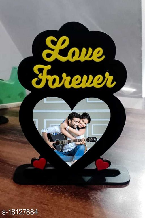 5.5*8inchesPERSONALISED YOUR  PHOTO ON  WOODEN DECORATIVE PIECES (withbox)  FOR TABLES AND BEST EVER GIFT ITEMS (Loveforever)  FOR FRIENDS HUSBAND WIVES COUPLES  SISITER