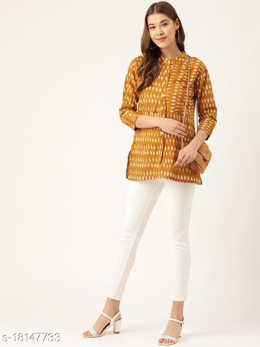 Trendy Cotton / Cotton Blend Women Shirts