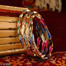 Charming Copper Bangles