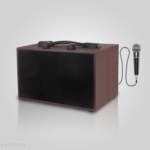 Flow Karoke 2.1 Speaker System for people who love to sing , portable and must Buy Bluetooth Sspeaker System