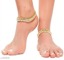 Unique Alloy Designer Anklet