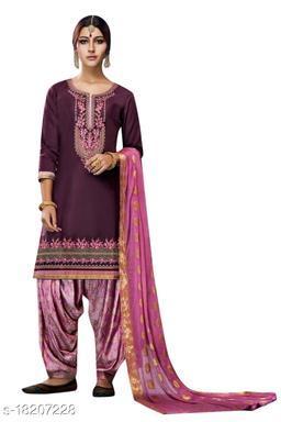 Charvi Drishya Semi-Stitched Suits