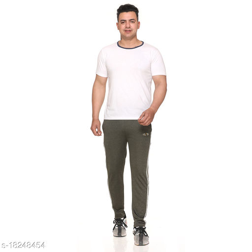 URY Dry Fit Slim Fit Track Pants for Men