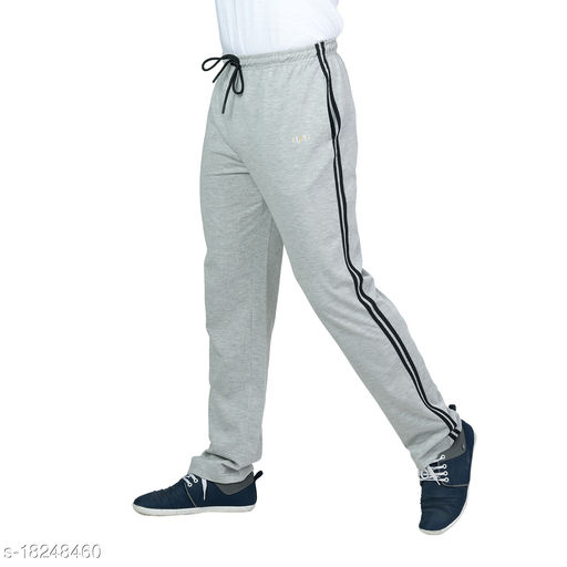 URY Relaxed Fit Striped Cotton Track Pant for Men Stylish