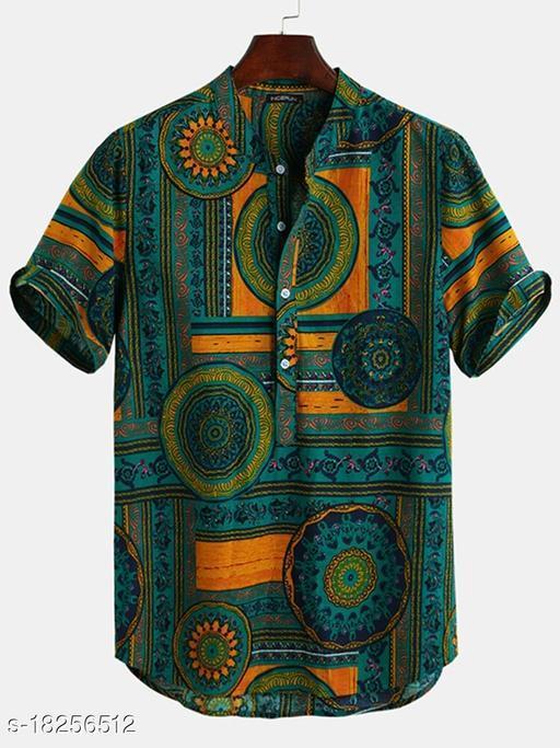 Classy Retro Men Shirt Fabric
