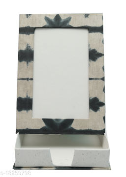 Kagzi Handicrafts Paper Photo Frame (Grey, Green,9*16)