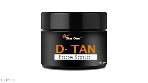 D-TAN FACE SCRUB