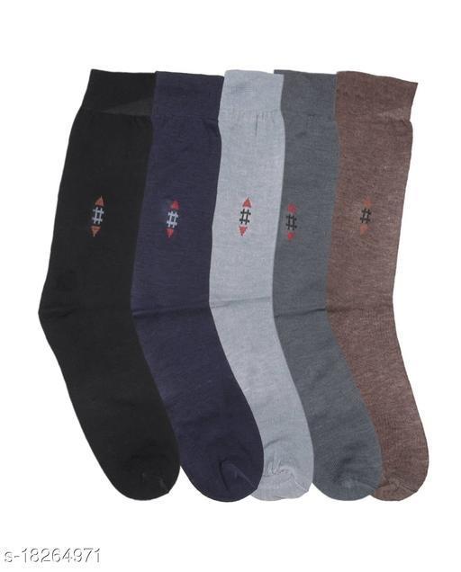 Men's Full-Length Socks (Pack of 5)