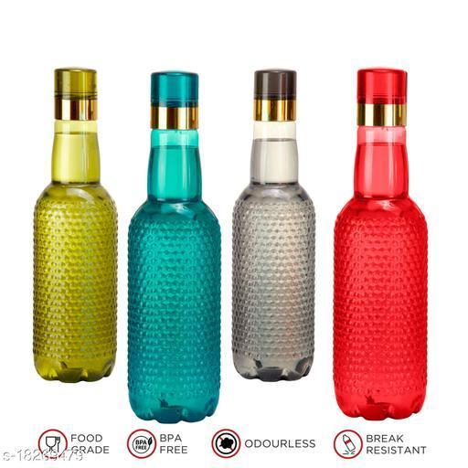 Saura Tuberg Fridge Bottle 1000 ml Set of 4 Multi