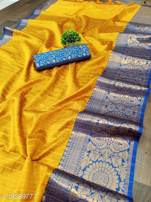 Trendy Chanderi Silk Sarees