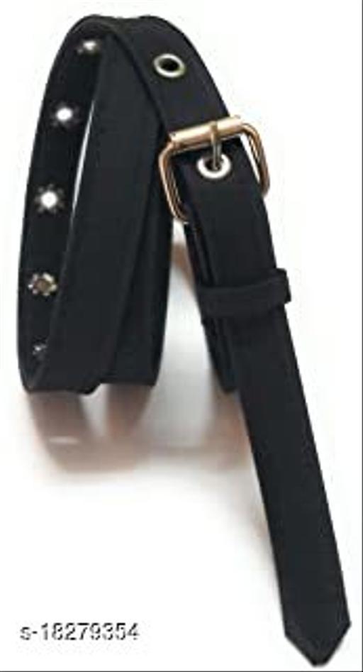 Trendy Women's PU Leather Belts (Free Size)