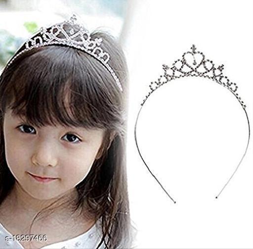 Charming Elegant   Silver Metal Tiara