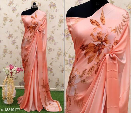 Rekha Maniyar beautiful print crepe saree