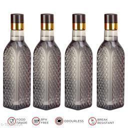 Saura Eifel Fridge Bottle 1000 ml Set of 4 Smoke Black