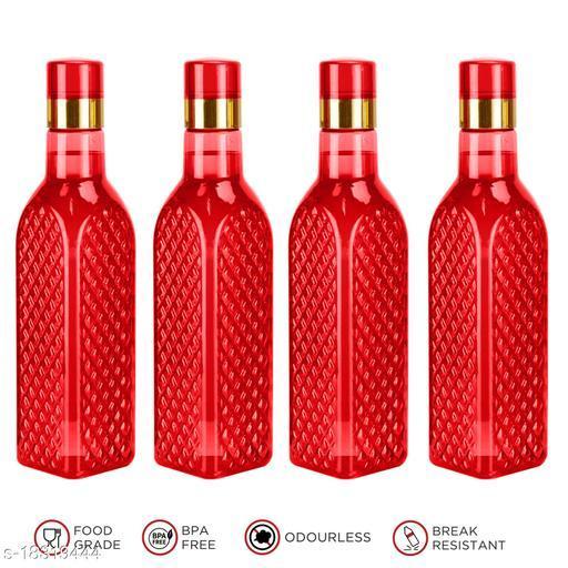 Saura Eifel Fridge Bottle 1000 ml Set of 4 Red