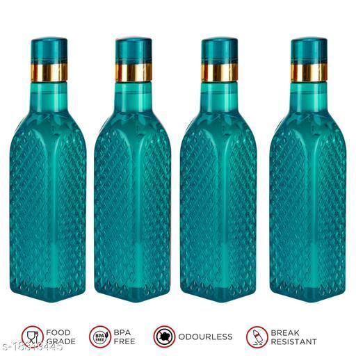 Saura Eifel Fridge Bottle 1000 ml Set of 4 Blue